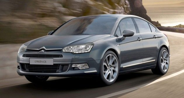 A new sedan car produced by the French manufacturer Citroen will be released as 2017 #Citroen #C5.