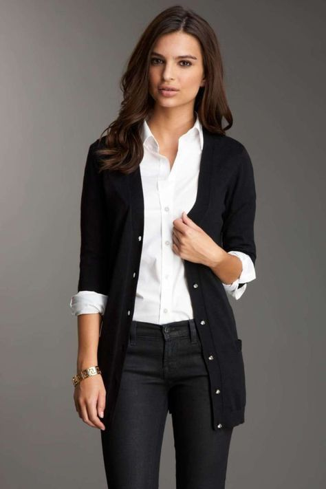 Cardigan Outfits For Work 56