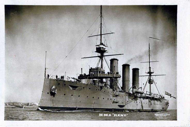 HMS Kent 1914-1918.