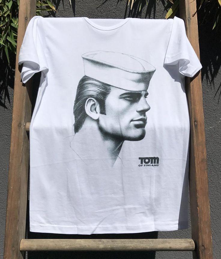 "<p>""Sailor"" T-Shirt</p> <p>100% Cotton</p> <p>European Fit</p> <p>Produced by Keltainen Ruusu</p> <p>Part of proceeds benefit Tom of Finland Foundation</p>"