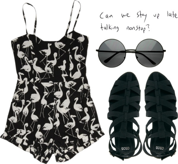 """""""Playsuit"""" by serenaandrew ❤ liked on Polyvore"""