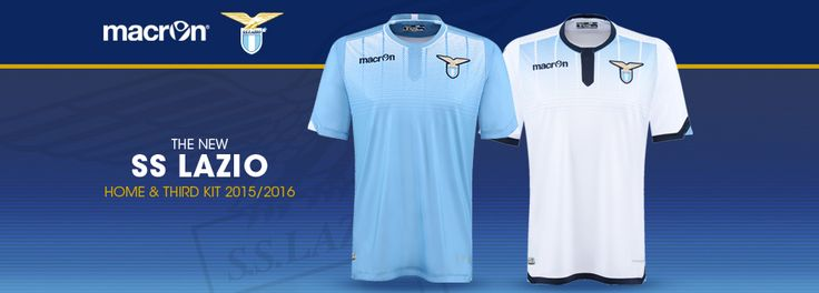 SS LAZIO HOME AND THIRD KIT 2015/2016
