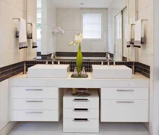 17 best ideas about Pias Para Banheiro on Pinterest  Decoração de banheiro,  -> Gabinete De Banheiro Duplo