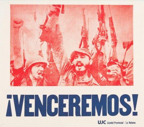 Propagandistické plakáty Kubánské revoluce – 3 ks | Aukce obrazů, starožitností | Aukční dům Sýpka