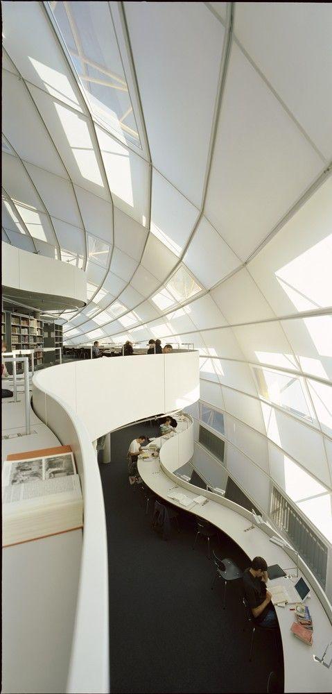 Free University's Philology Library,© Rudi Meisel