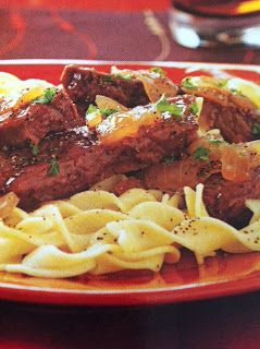 Easy crockpot recipes: Round Steak Sauerbraten Crockpot Recipe