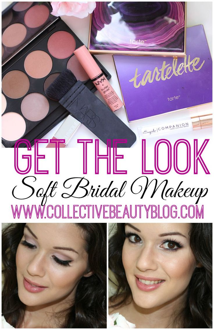 Soft bridal makeup!