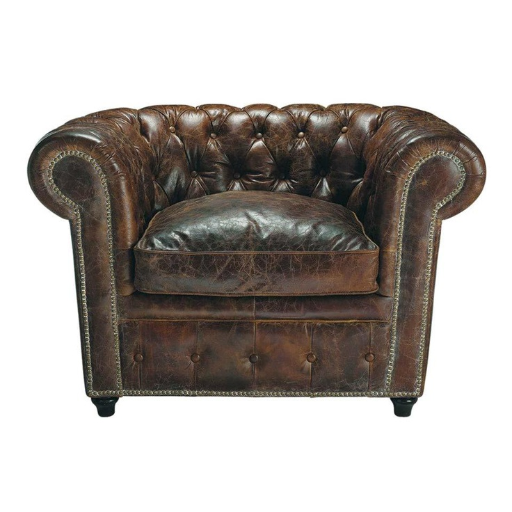 Brown Chesterfield Armchair     #furniture #furniturehire #chesterfield #brisbane #antique #events  http://www.epicempire.com.au/chesterfield-armchair/