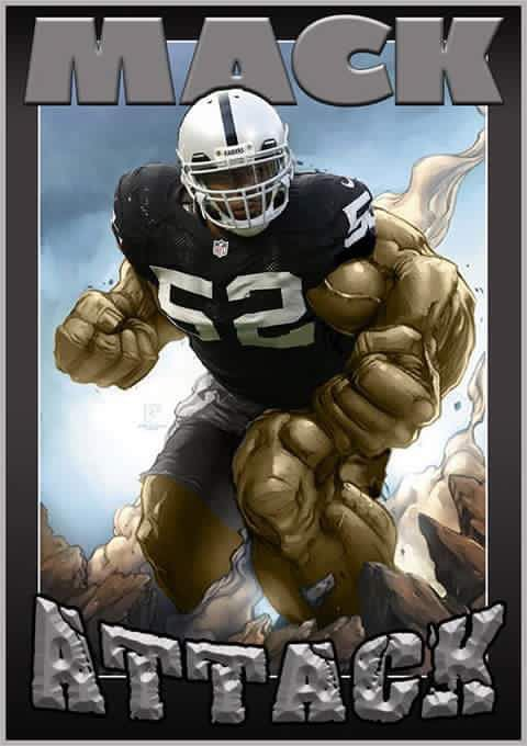 Oakland Raiders Mack attack