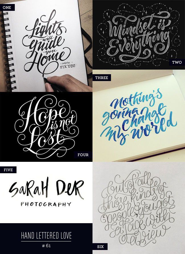 Hand Lettered Love #61