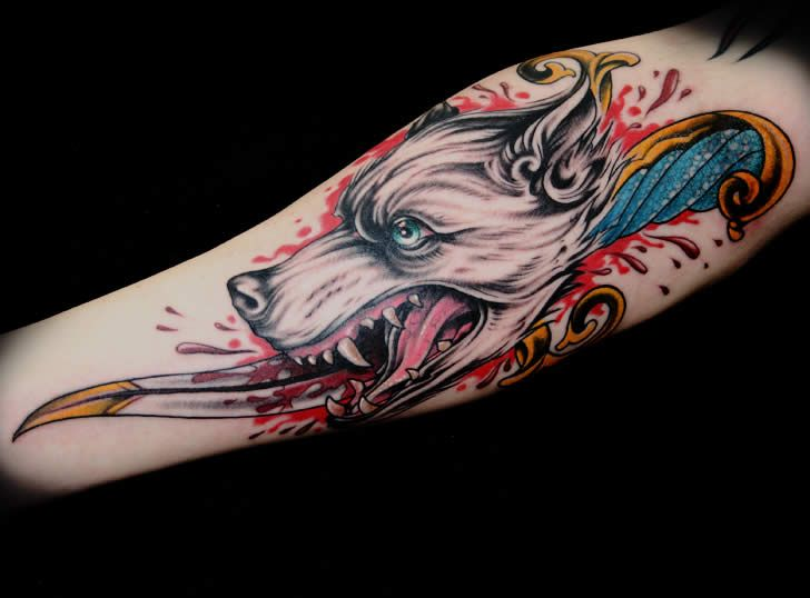 Tattoo art by James Woodford (4)James Of Arci, James Woody, James Woodford
