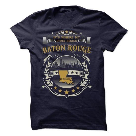 My Home Baton Rouge - Louisiana - #tee dress #animal hoodie. CHECK PRICE => https://www.sunfrog.com/States/My-Home-Baton-Rouge--Louisiana-61550008-Guys.html?68278