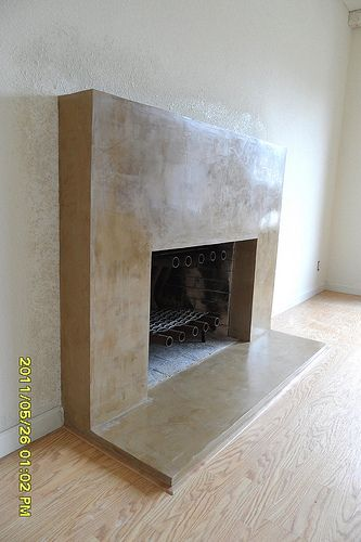 17 Best Ideas About Stucco Fireplace On Pinterest Concrete Fireplace Minim