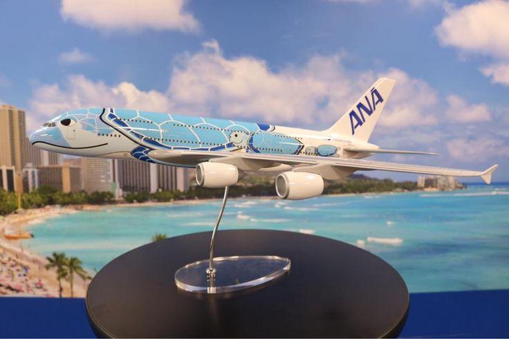 A fost prezentat livery-ul primului Airbus A380 ANA (FLYING HONU)