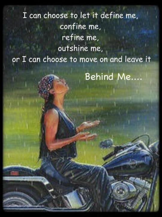 My kind of poet on a bike...riding on baby