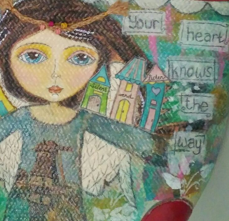 Dewi Bhumi details. Mahitala whimsical painting