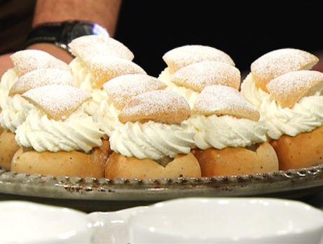 Baka egna semlor till fettisdagen med Magnus Johanssons recept på vanlig semla med fördeg och på kalsbadersemla.
