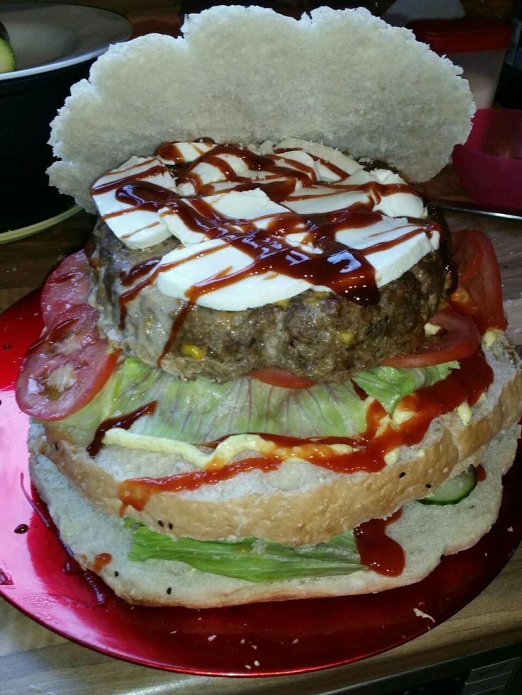 #Burger-Torte, die herzhafte Alternative zum #Geburtstagskuchen