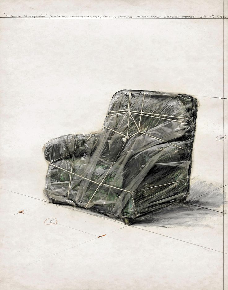 Christo and Jeanne-Claude | Projects | Wrapped Objects, Statues and Women