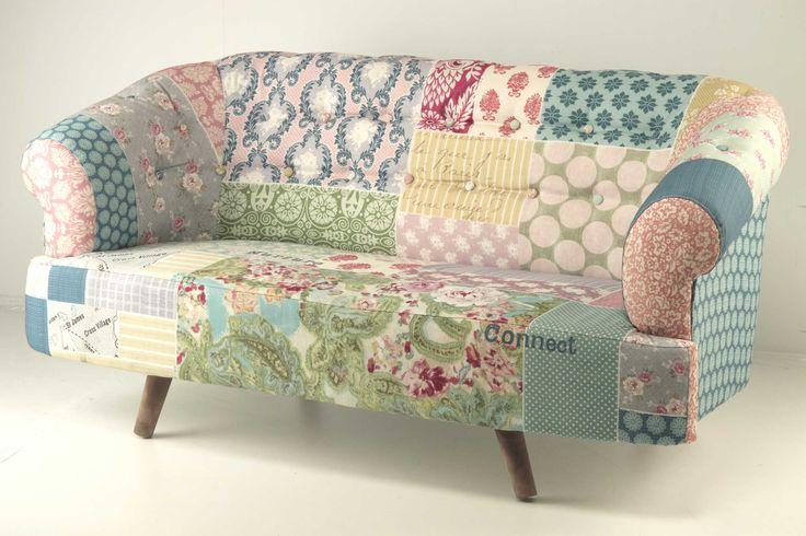 M s de 1000 ideas sobre sof patchwork en pinterest for Electrodomesticos vintage baratos