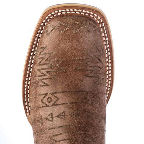 Tin Haul Aztek Brown Cowgirl Boots
