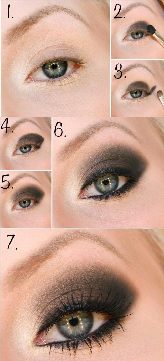 Schön geschminkte Augen zum Nachmachen – 40 Bilder