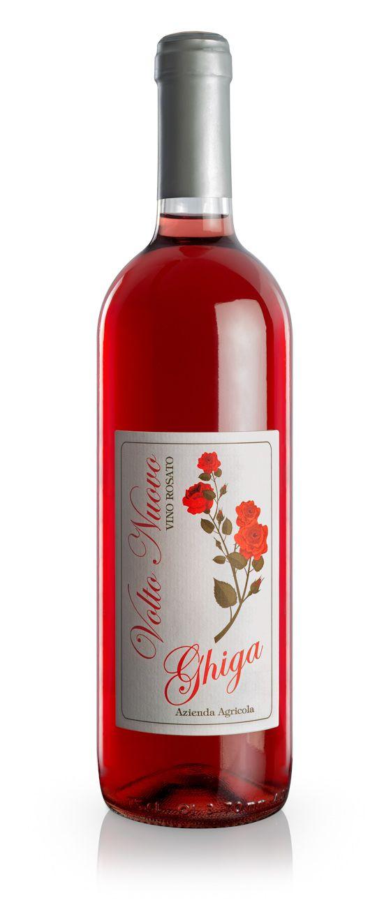 Vini Rosati : Volto Nuovo Vino Rosé 2015 - Ghiga
