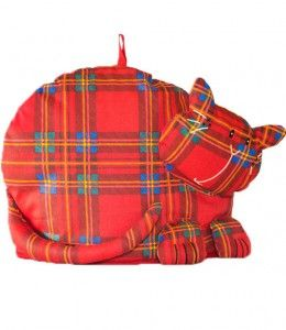 Tartan Tabbies Tea Cosy This adorable cat shaped tea cosy, is a new addition to our best selling Tartan Tabbies Collection. Machine washable.  £10.95