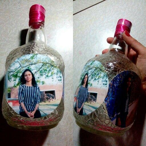DIY - Reused rum bottle