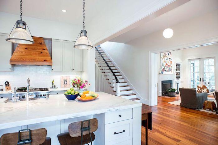 1001 Idees Pour Amenager Une Cuisine Campagne Chic Charmante Kitchen Home Decor Home