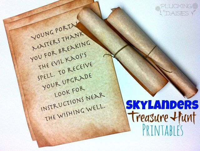Ultimate List of Skylanders Party Ideas : DIY Games, Decor, and Party Favors. Plus the best places to shop for supplies! | Pluckingdaisies.c...