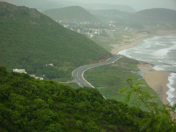 View of Bay of Bengal from Kailasagiri Hill,Vizag