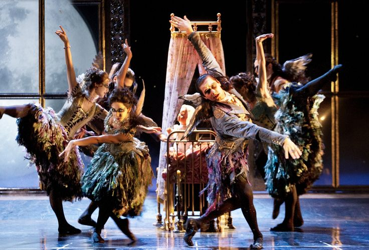 "The Look: Sleeping Beauty - Matthew Bourne's version of Tchaikovsky's ""Sleeping Beauty"" by New Adventures Associate Artists. Costumes by Lez Brotherston."
