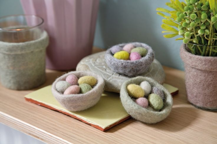 Mini Easter eggs from Én gry & Sif