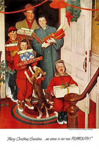 Christmas ~ Norman Rockwell: