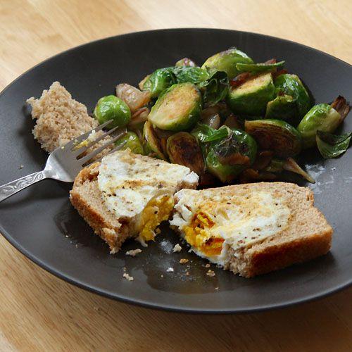 An Austin Homestead: Eggy-in-a-Basket: A Recipe for Fresh Eggs