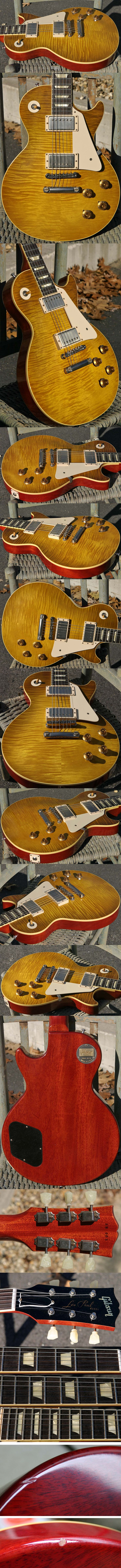 Gibson Custom Shop VOS Joe Bonamassa Skinnerburst 1959 Les Paul Reissue