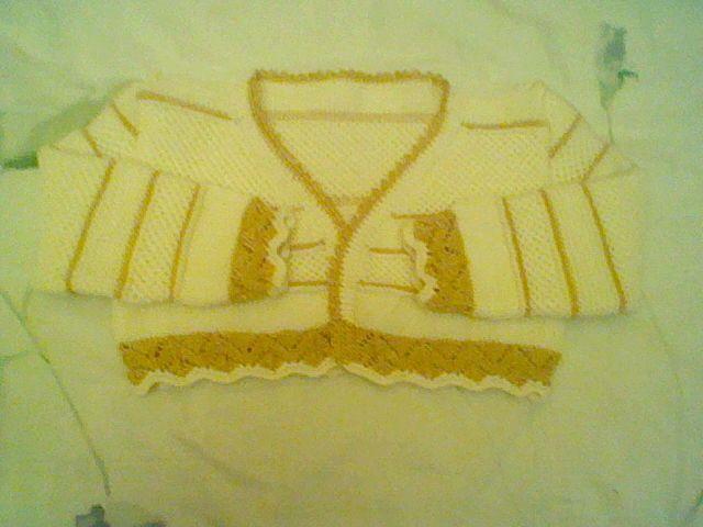 chaqueta bautizo niño