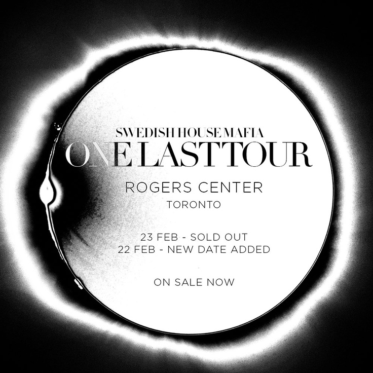 Swedish House Mafia is coming to TORONTO! Get tickets at www.electronicnation.com.