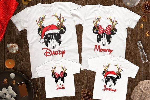 Disney Christmas Shirt Designs.Disney Christmas Family Shirts Disney Christmas Matching