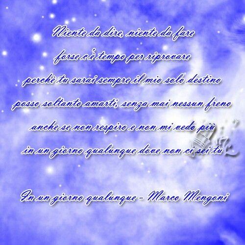 In un giorno qualunque - Marco Mengoni