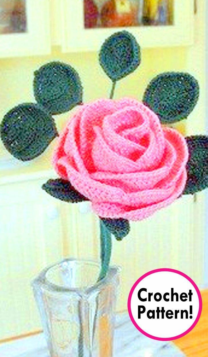 Rose Crochet Pattern Roundup Flower Diagram Flowers 4 Amigurumi