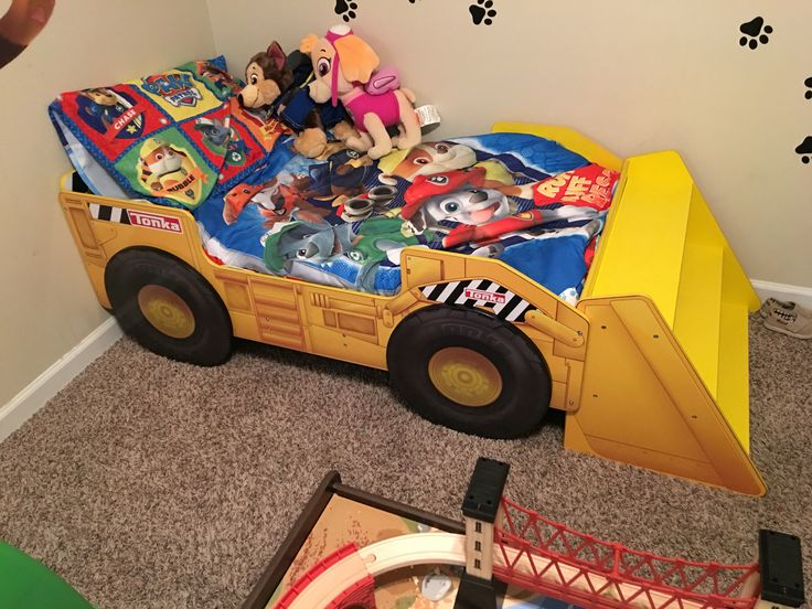 Tonka Bed For A Paw Patrol Room My Sons Paw Patrol