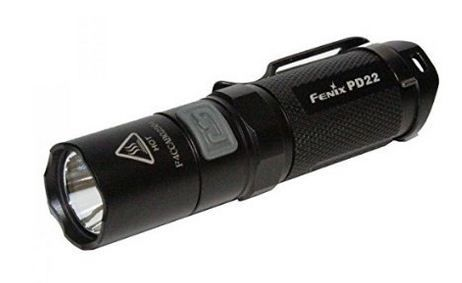 The led flashlight of the future: Fenix PD20! Read my review for the brightest flashlight! See More: http://redflashlight.com/led-flashlight-fenix-pd20-review/