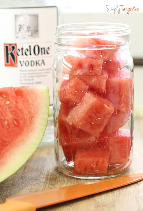 Watermelon Infused Vodka 7 DIY Vodka Infusions Thatll Seriously Upgrade Your Homemade Cocktails.......