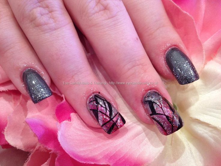 50 best she nailed it images on pinterest acrylic nails eye eye candy nails training nail art gallery photos taken in salon between 29 prinsesfo Image collections