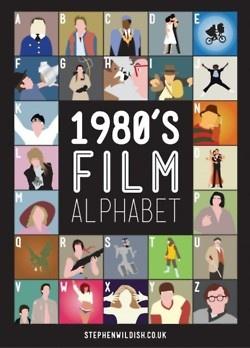 1980s film alphabet.