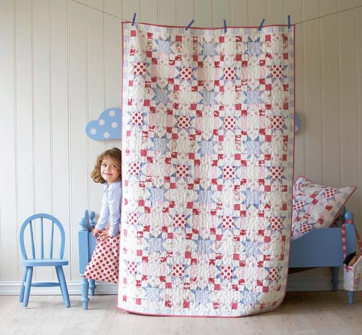 Cosy Sweetheart Quilt Kit - Exclusive - Tilda Craft and Quilt Kits - Tilda Crafts