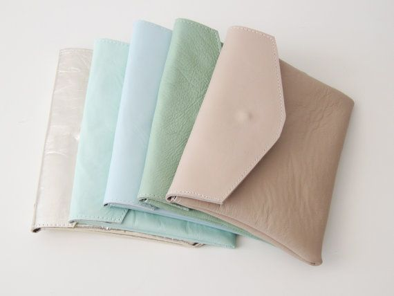pastel clutches