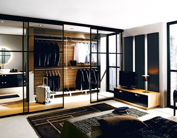 walk in wardrobe 229971 620x484 31 Spectacular Examples of Walk In Wardrobes